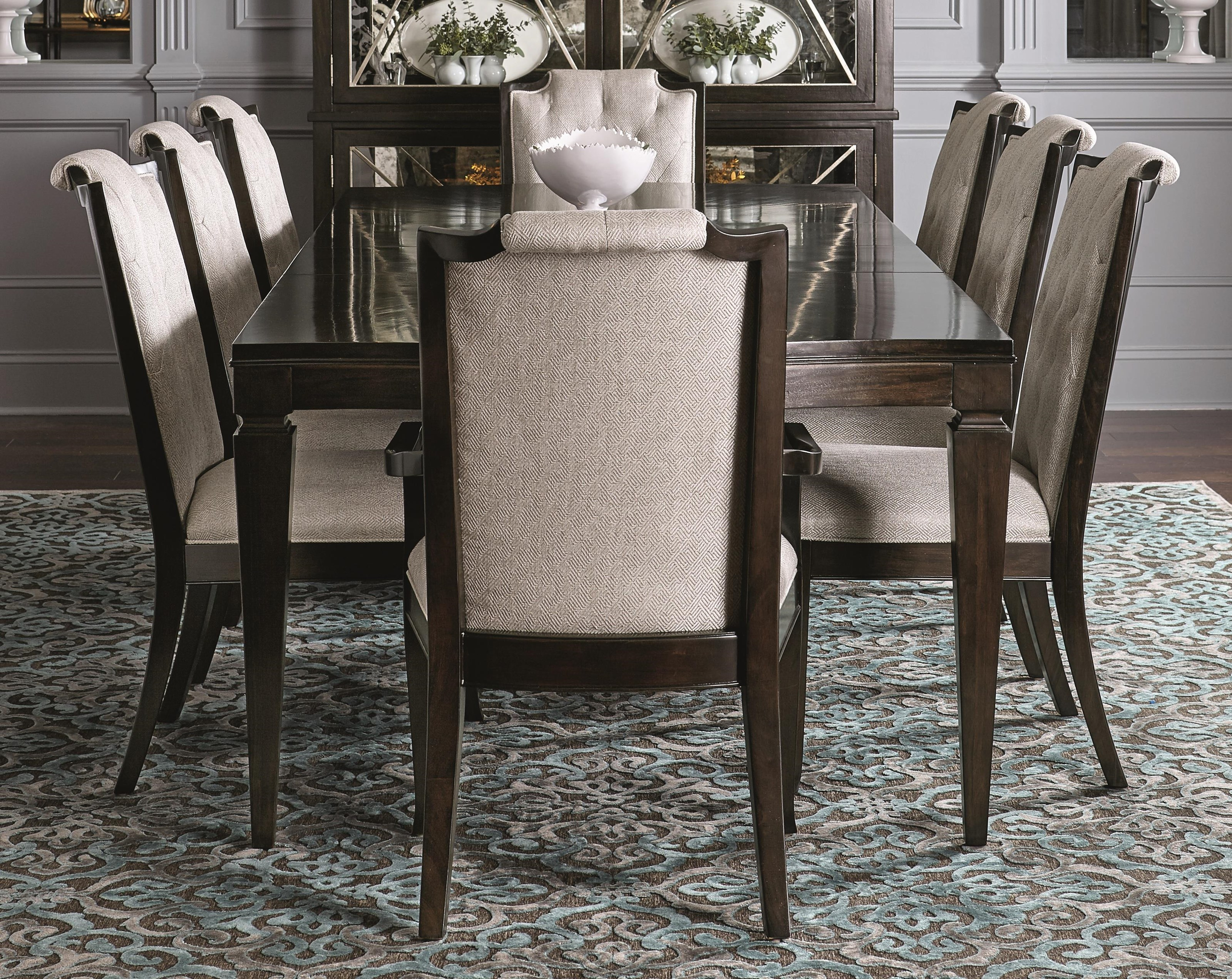 Bernhardt Sutton House 5 Piece Dining Set includes Table and 4