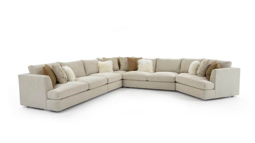 Sydney Seven Seat Sectional Sofa by Bernhardt at Baer's Furniture