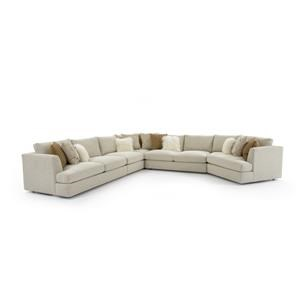 Seven Seat Sectional Sofa