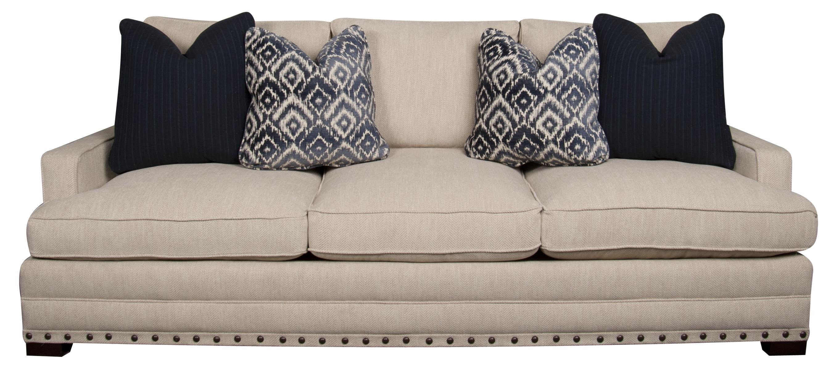 Bernhardt Morris Home Furnishings Cantor Sofa - Item Number: 652400951