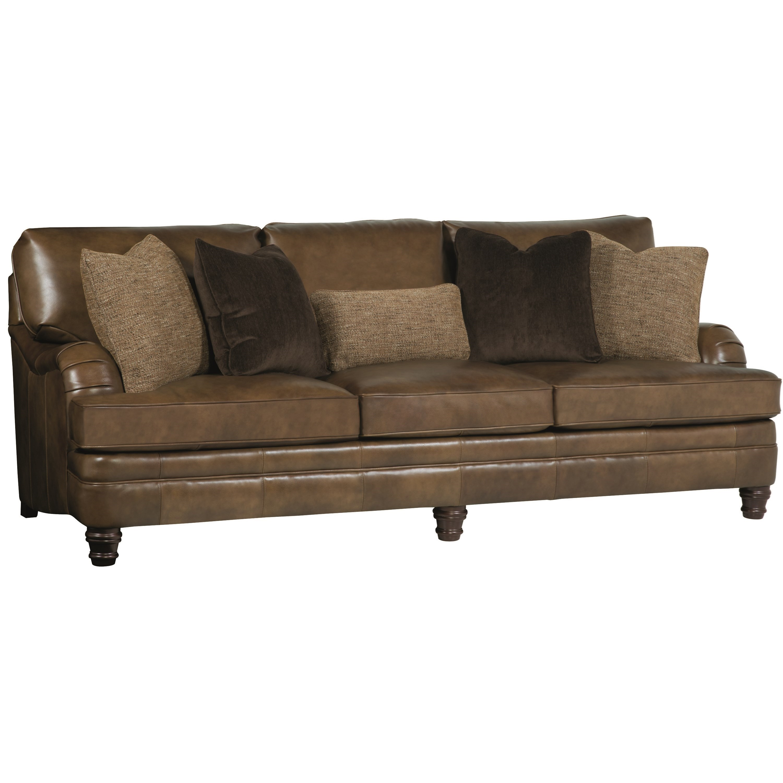 Bernhardt Tarleton Traditional Styled Stationary Sofa Miskelly Furniture Sofas