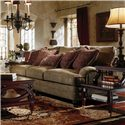 Bernhardt Tarleton Traditional Styled Stationary Sofa  - Sofa Shown May Not Represent Size Indicated