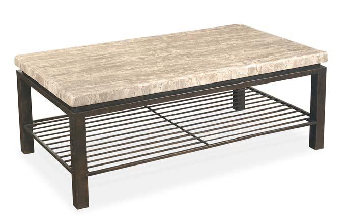 Bernhardt Tempo Rectangular Cocktail Table - Item Number: 498-021