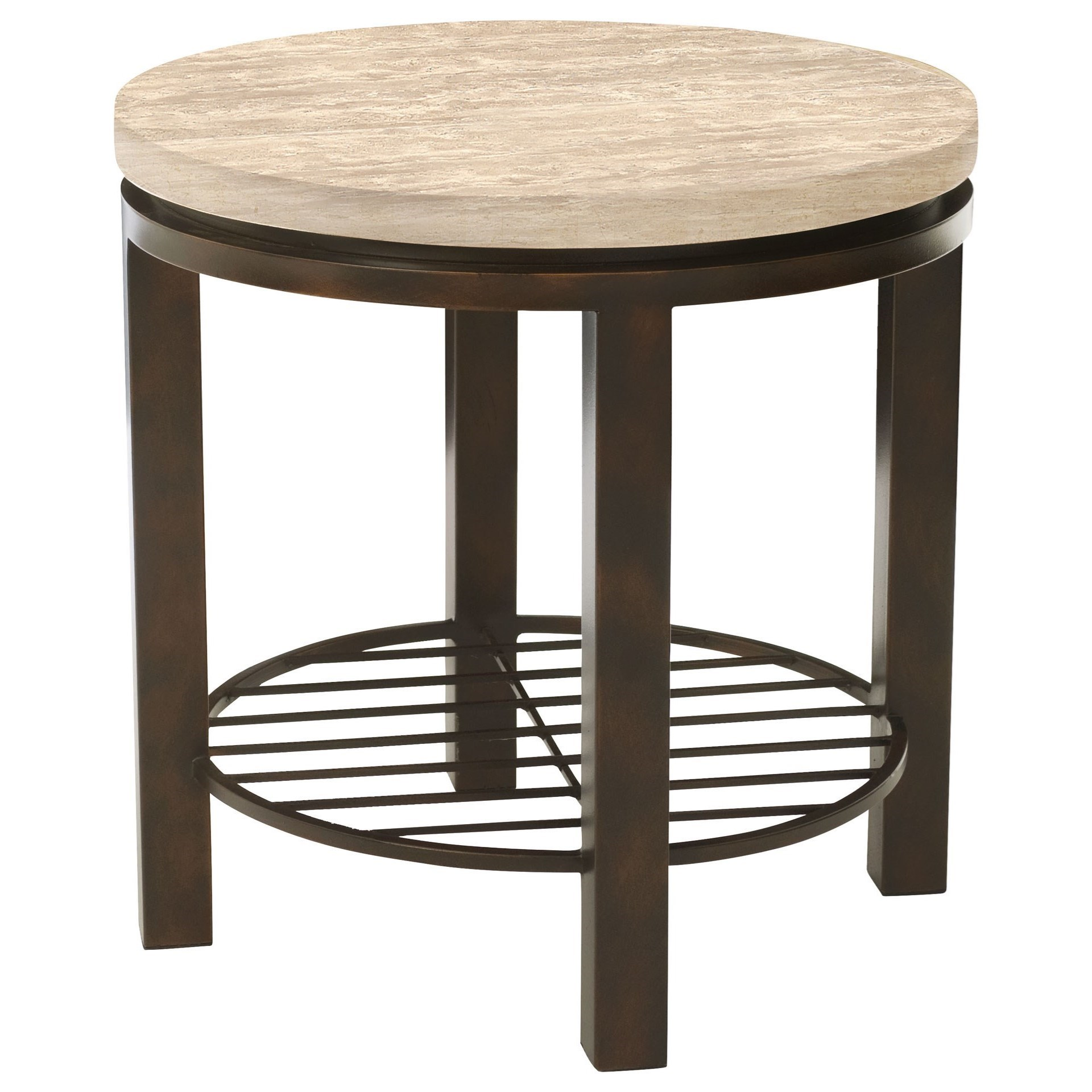 Bernhardt Tempo Round End Table - Item Number: 498-123