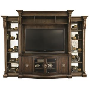 Bernhardt Villa Medici Entertainment Unit with Piers