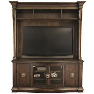 Bernhardt Villa Medici Entertainment Console with Deck