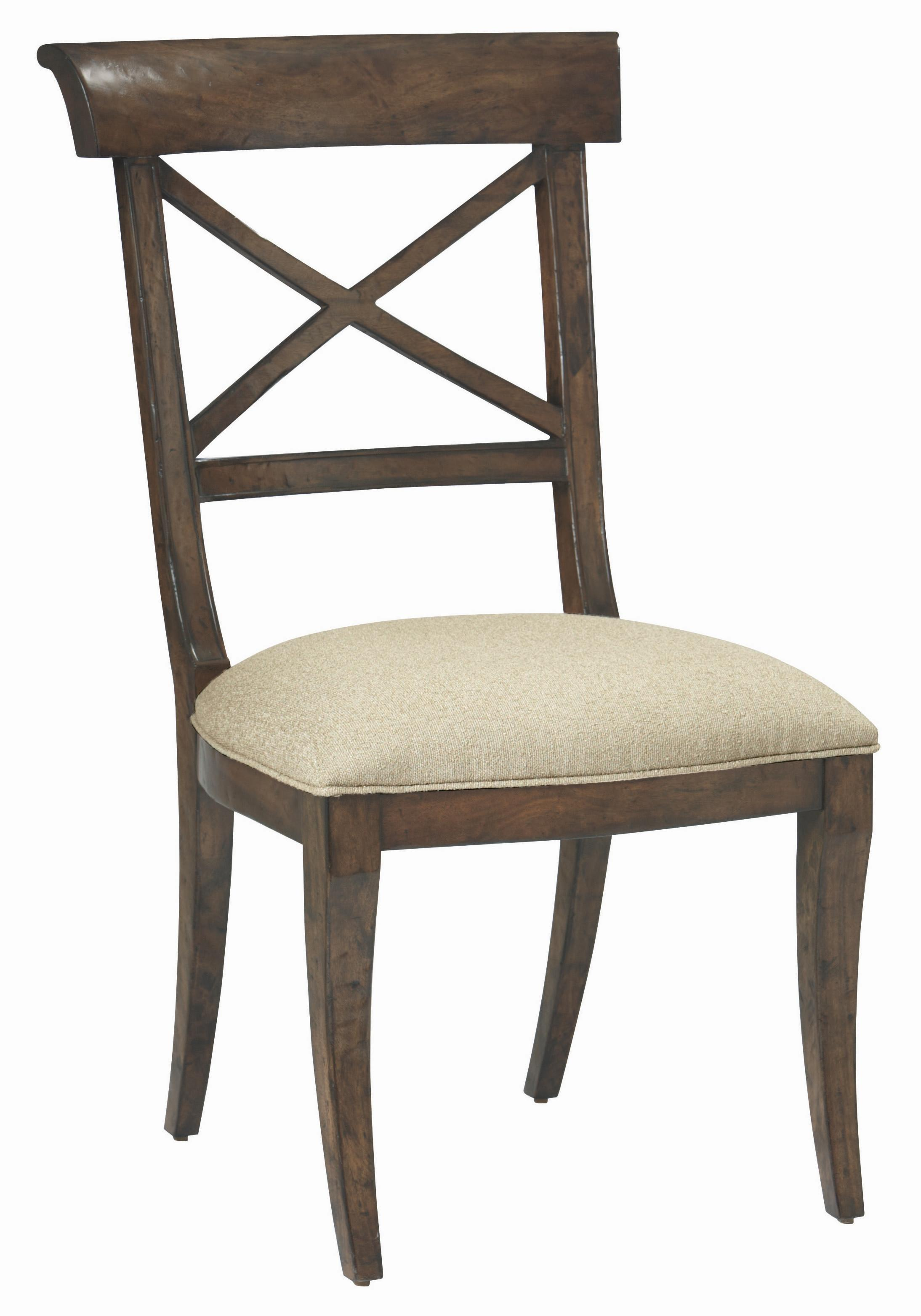 Bernhardt Vintage Patina Side Chair - Item Number: 322-555