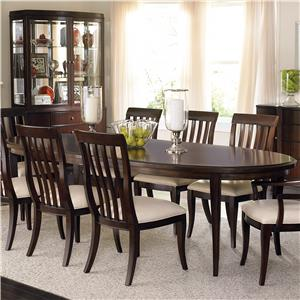 Bernhardt Westwood Oval Dining Table