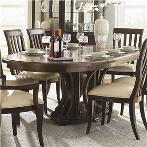 Bernhardt Westwood Double Pedestal Dining Table