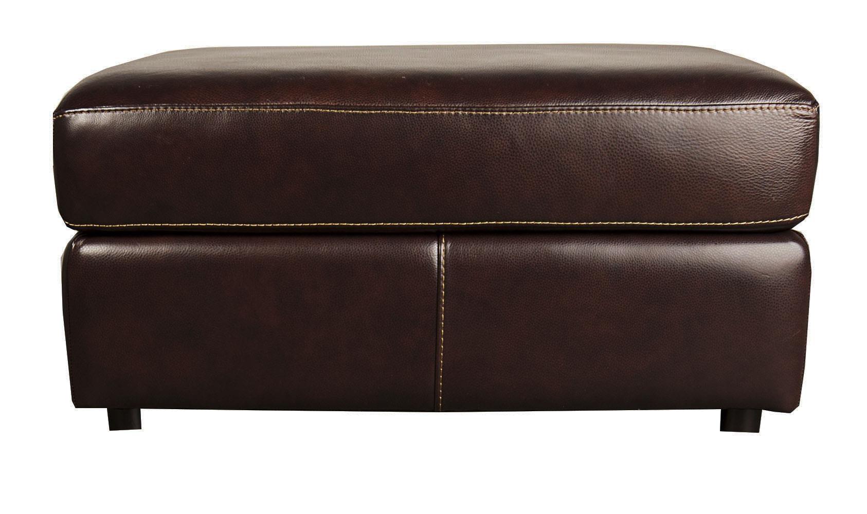 Bernhardt Winslow Winslow 100% Leather Ottoman - Item Number: 274776830