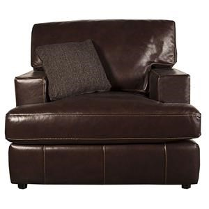 Bernhardt Winslow Winslow 100% Leather Chair