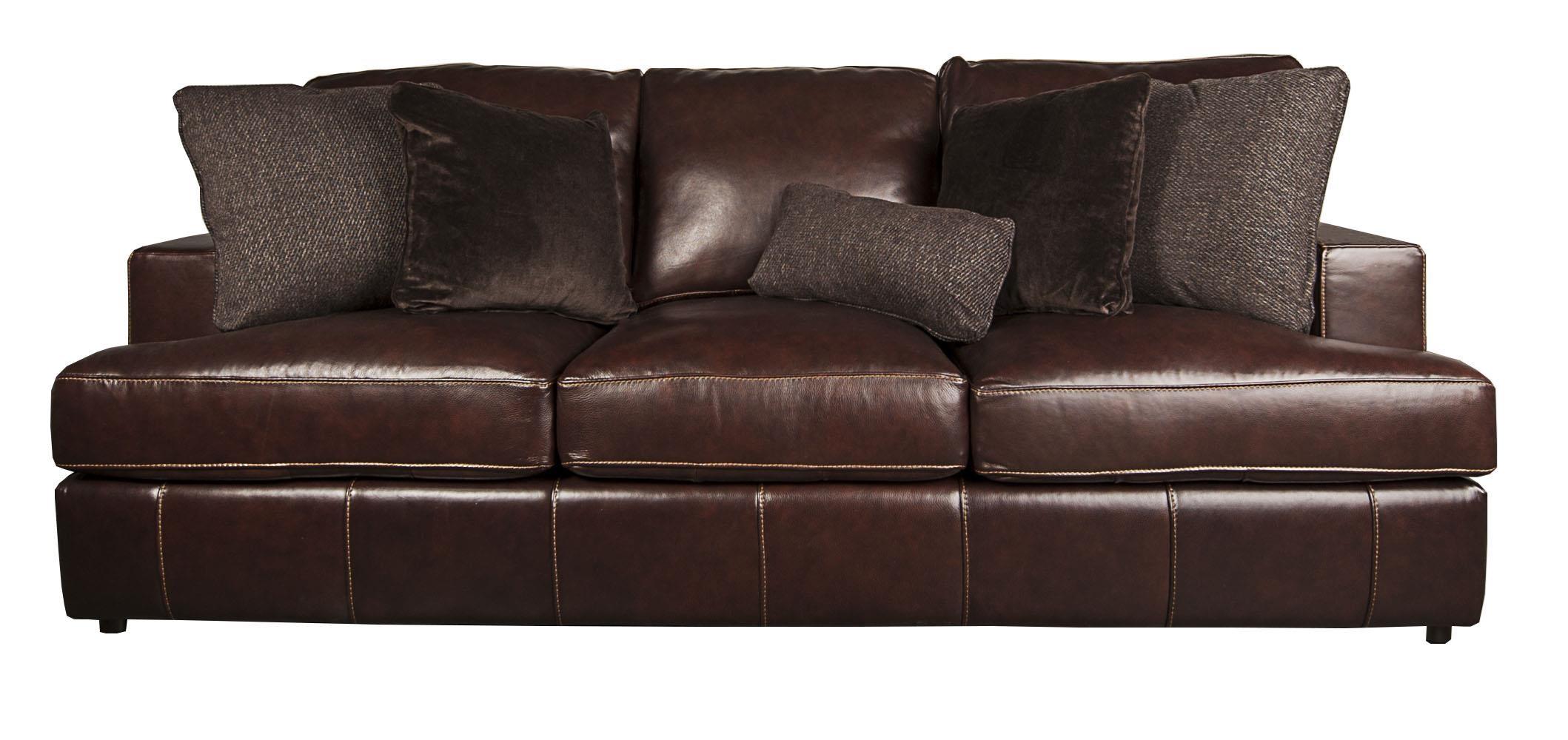 Bernhardt Winslow 100% Leather Sofa Morris Home Sofas
