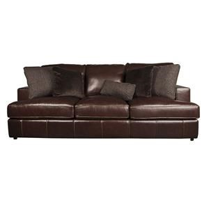 Bernhardt Winslow Winslow 100% Leather Sofa