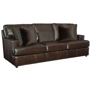 Bernhardt Winslow All Leather Sofa