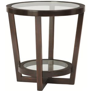Bernhardt Zola Round End Table