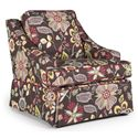 Best Chairs Storytime Series Storytime Swivel Chairs and Ottomans Ayla Chair - Item Number: 2147SC