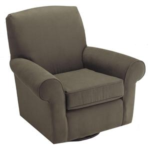 Best Chairs Storytime Series Storytime Swivel Chairs and Ottomans Mandy Swivel Chair with Tight Upholstery