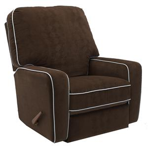 Best Chairs Storytime Series Storytime Recliners Bilana Swivel Glider Recliner with Track Arms