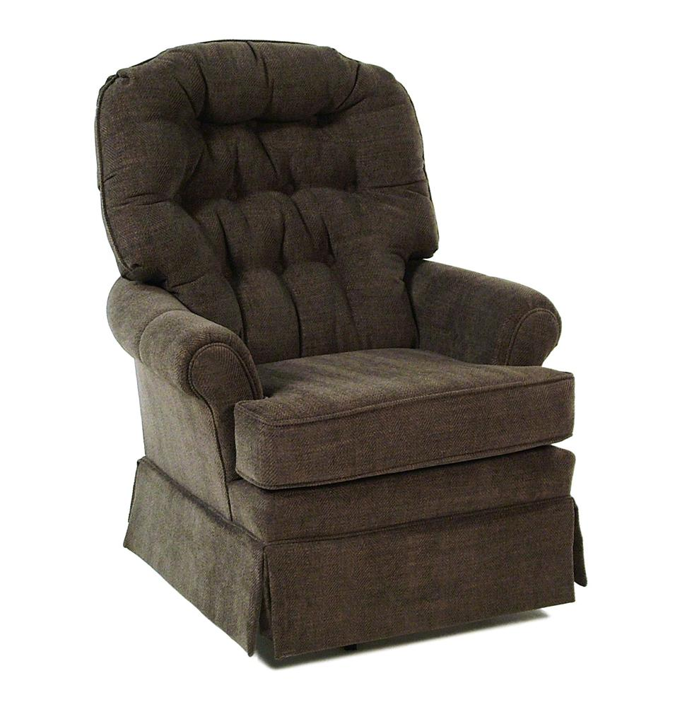 Best Home Furnishings Chairs - Swivel Glide Jadyn Swivel Glide Chair - Item Number: 4519