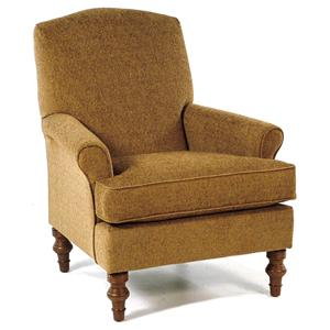 Best Home Furnishings Chairs - Club Camel-Back Club Chair