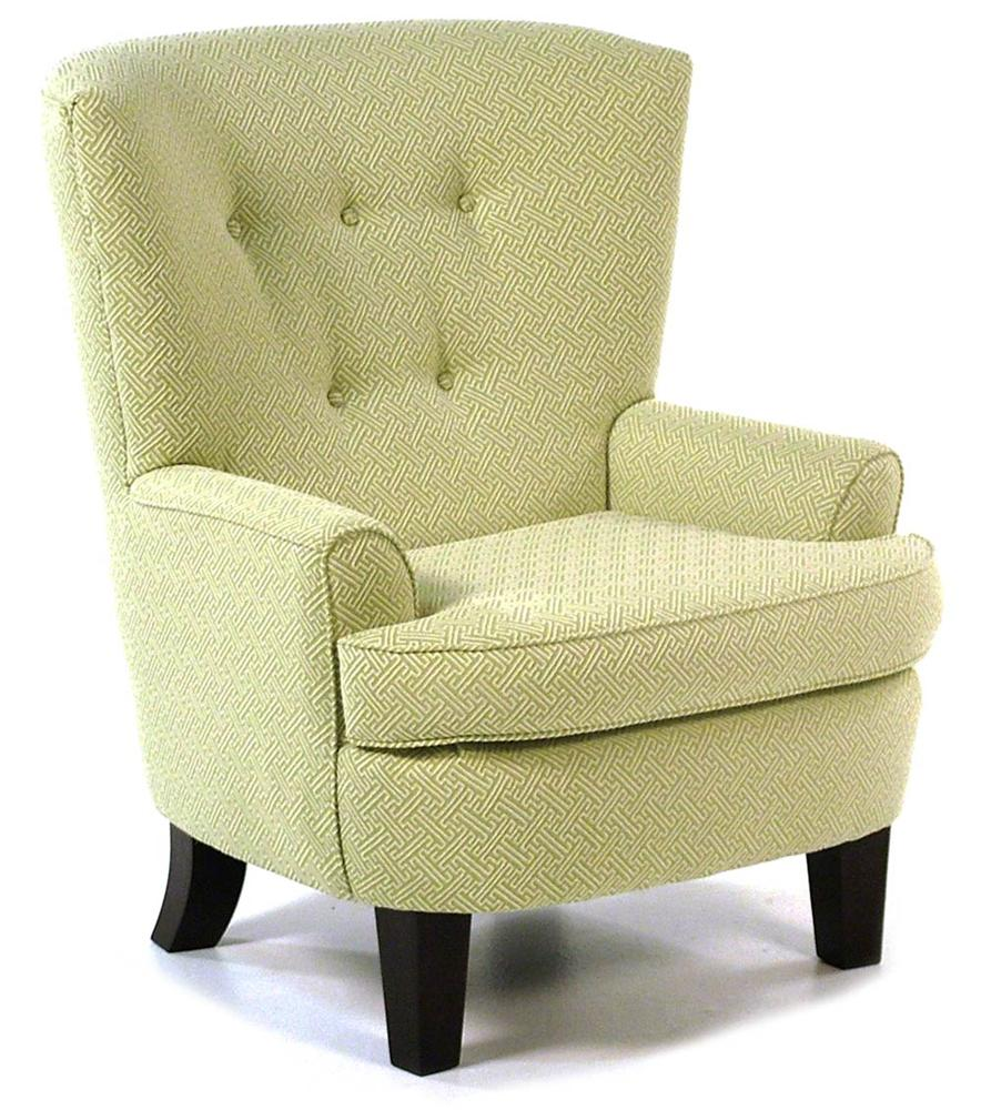 Best Home Furnishings Chairs - Club Club Chair with Button-Tufted Back - Item Number: 7120AB