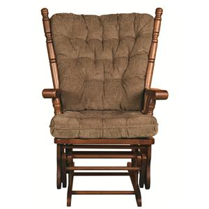 Morris Home Furnishings Edith Edith Glider Rocker