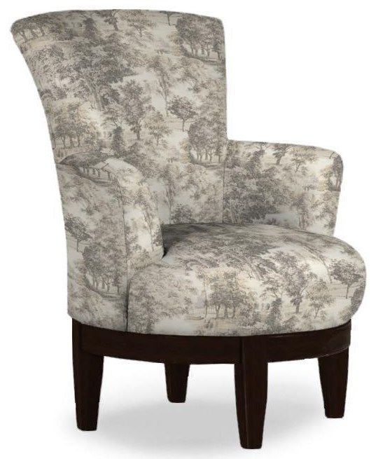 Justine Swivel Chair Swivel Chair at Bennett's Furniture and Mattresses
