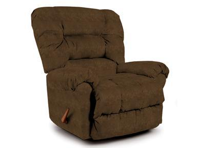 Best Home Furnishings Recliners - Medium Seger Tobacco Rocking Recliner - Item Number: 7MW27-24966