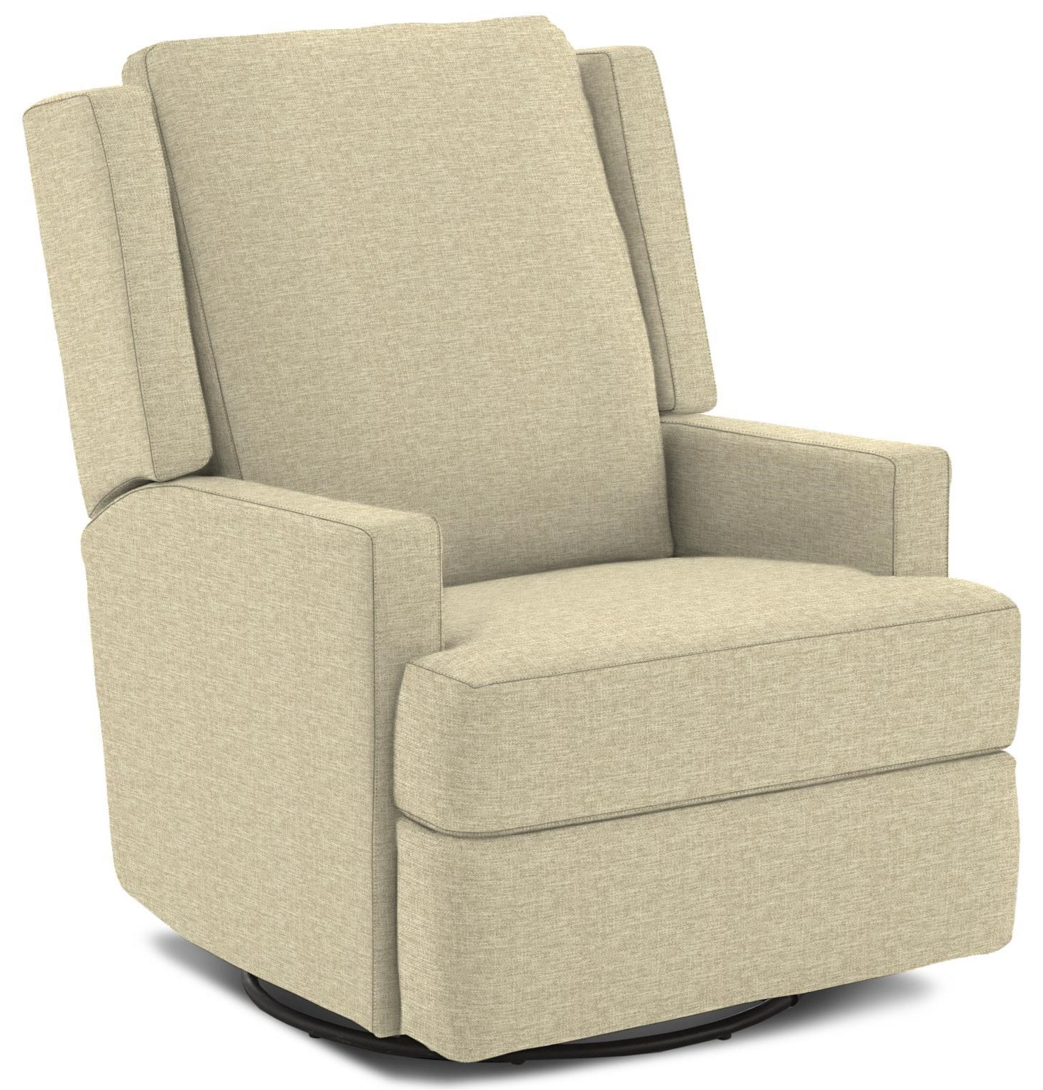 Allison Swivel Gliding Recliner by Best Home Furnishings at Crowley Furniture & Mattress