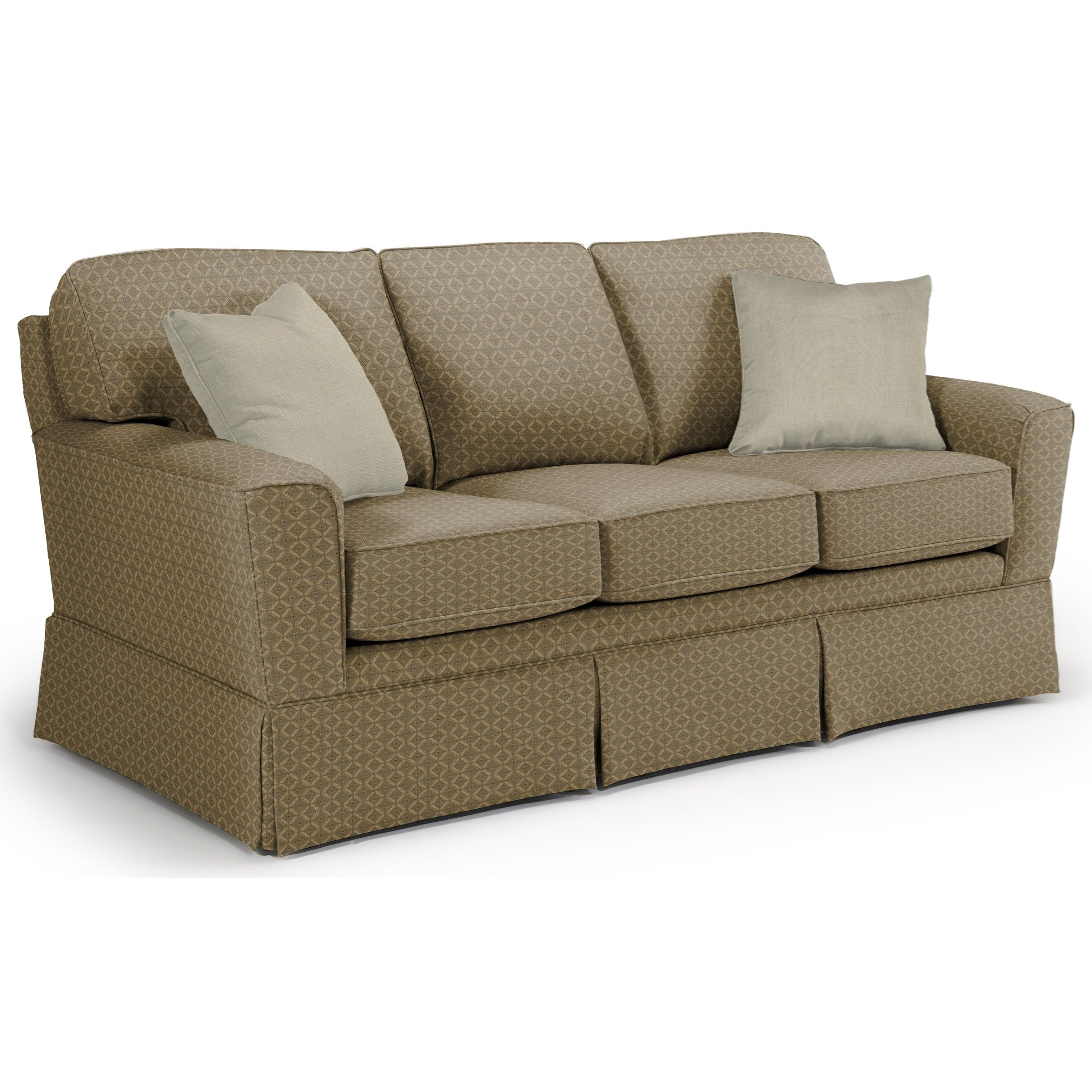 Best Home Furnishings Annabel  <b>Custom</b> 3 Over 3 Sofa - Item Number: -2110035674-18021