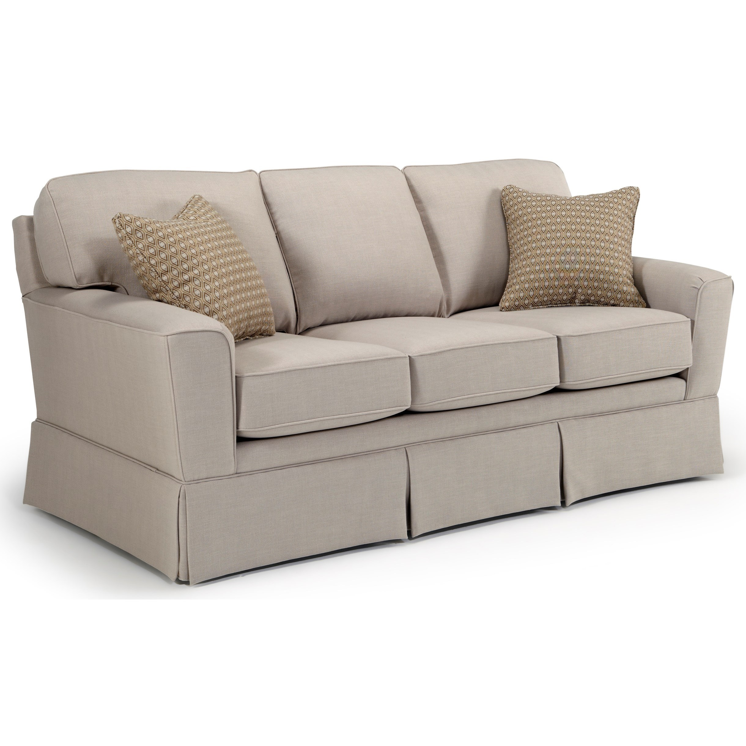 Best Home Furnishings Annabel  <b>Custom</b> 3 Over 3 Sofa - Item Number: -2110035674-20043B