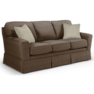 <b>Custom</b> 3 Over 3 Sofa