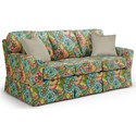 Best Home Furnishings Annabel  <b>Custom</b> 3 Over 3 Sofa - Item Number: -2110035674-28118