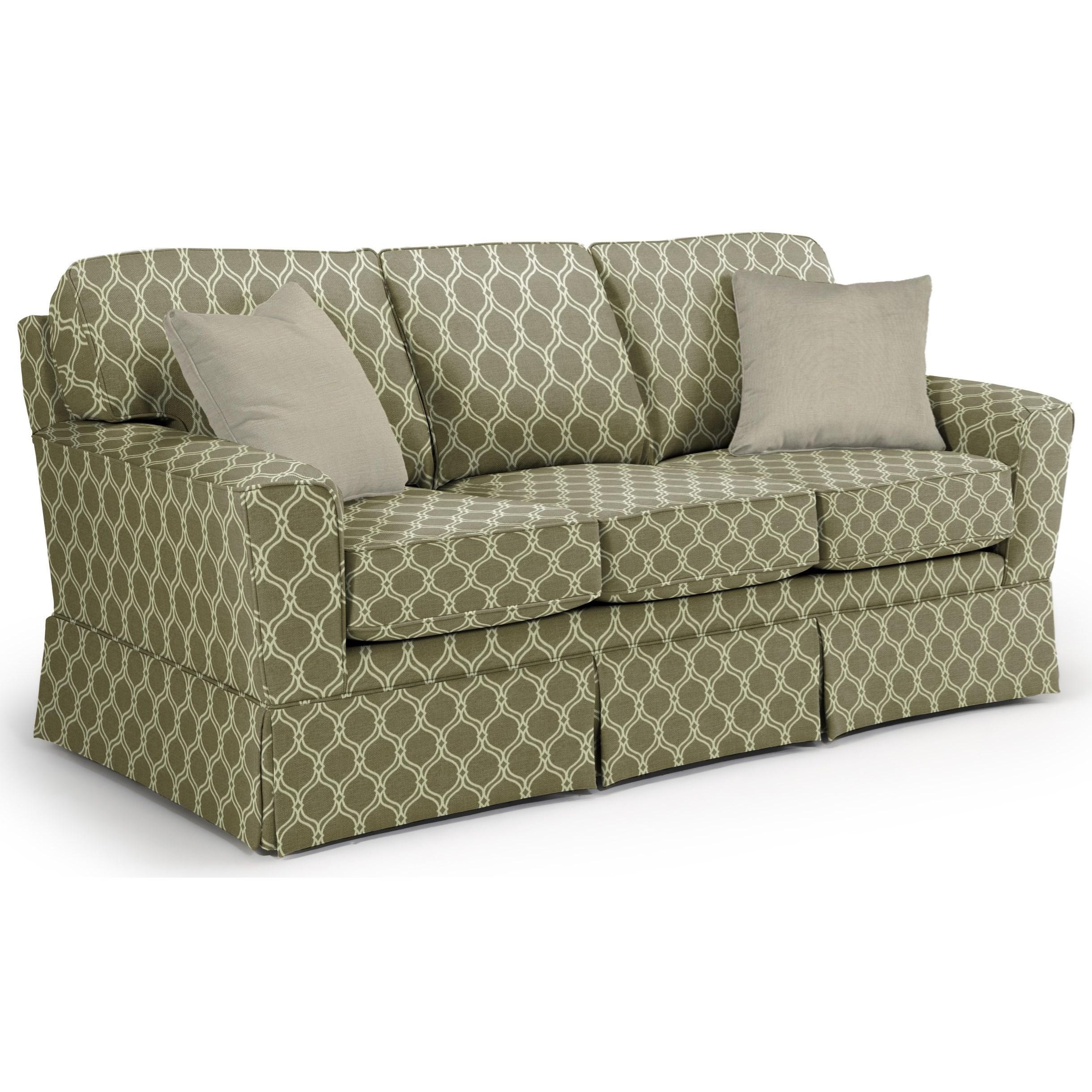 Best Home Furnishings Annabel  <b>Custom</b> 3 Over 3 Sofa - Item Number: -2110035674-28423