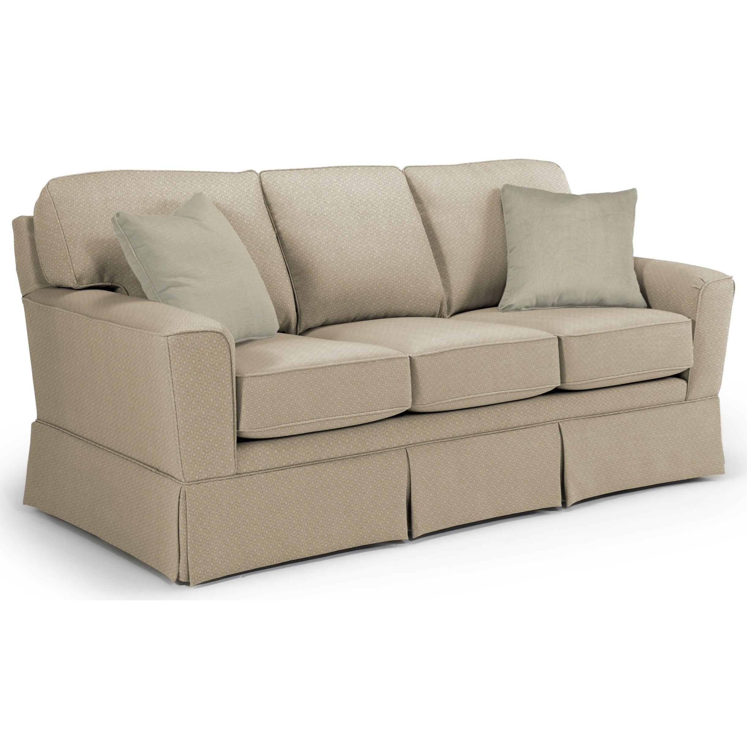 Best Home Furnishings Annabel  <b>Custom</b> 3 Over 3 Sofa - Item Number: -2110035674-28713