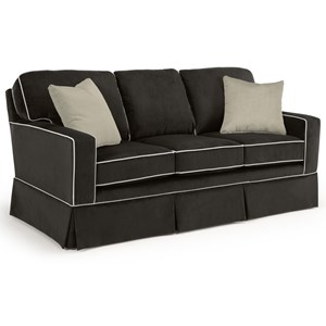 <b>Custom</b> 3 Over 3 Sofa