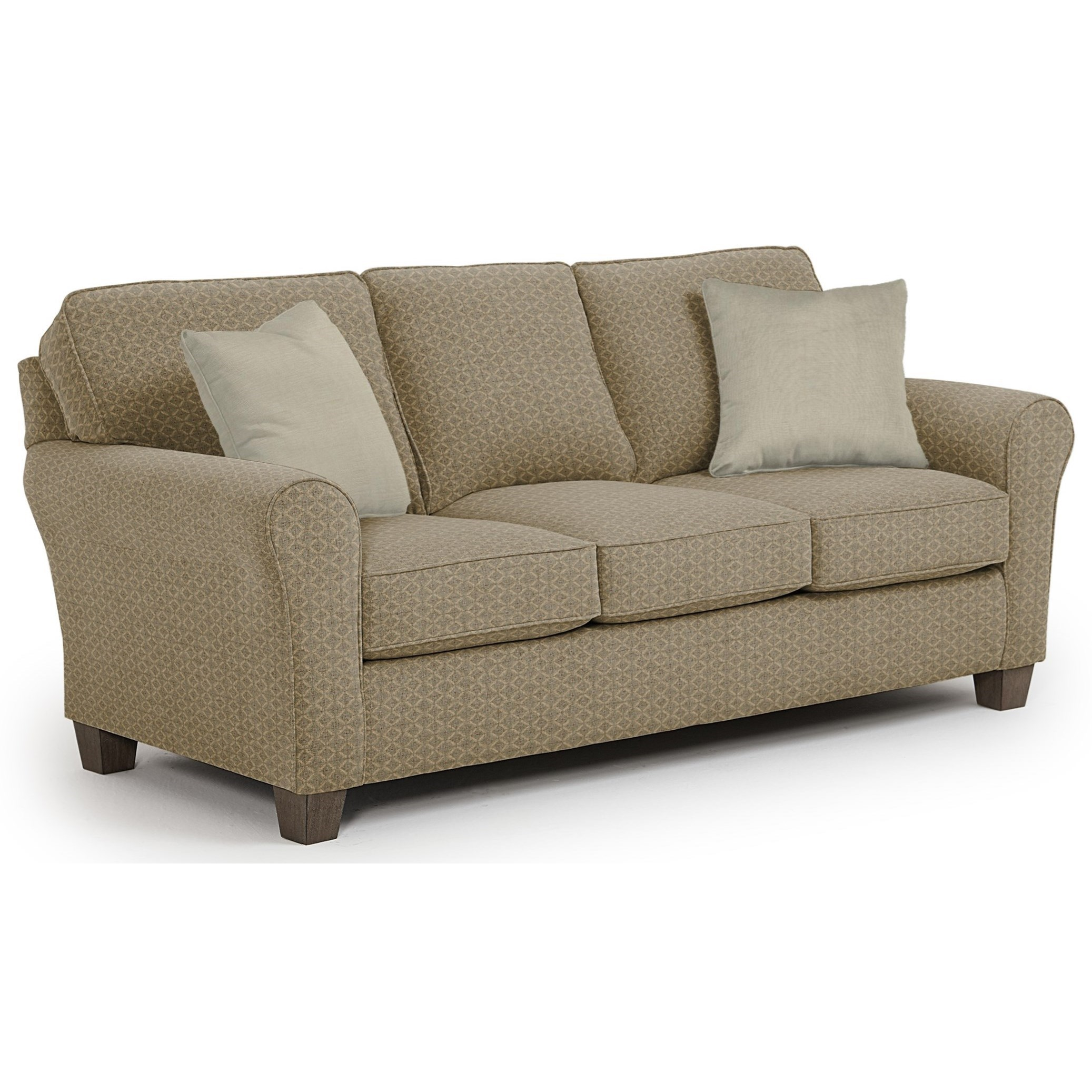 Best Home Furnishings Annabel  <b>Custom</b> 3 Over 3 Sofa - Item Number: 95361869-18021