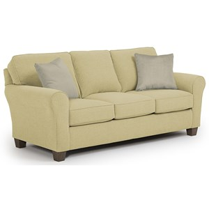Morris Home Annabel  <b>Custom</b> 3 Over 3 Sofa
