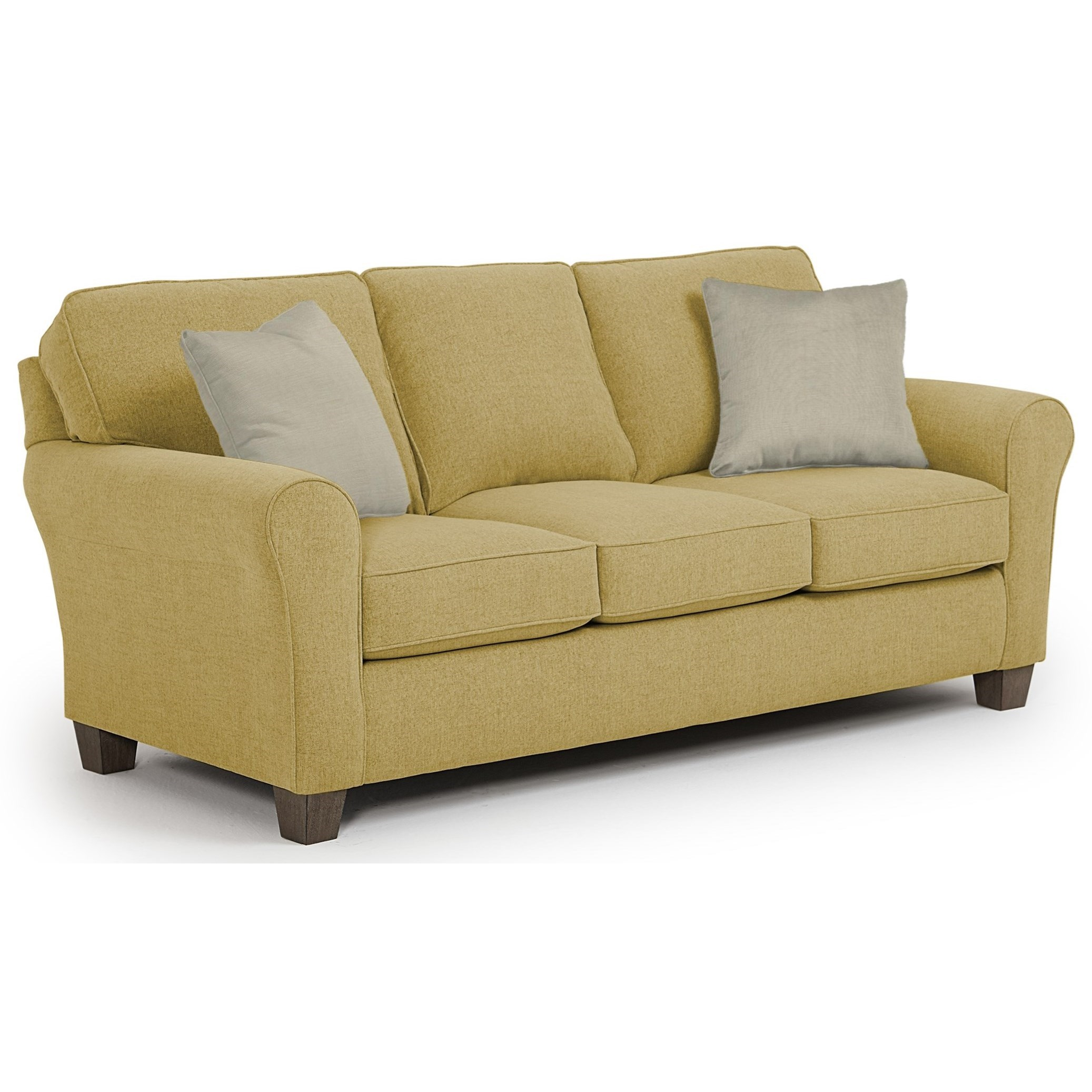 Annabel  Custom 3 Over 3 Sofa by Best Home Furnishings at Simply Home by Lindy's