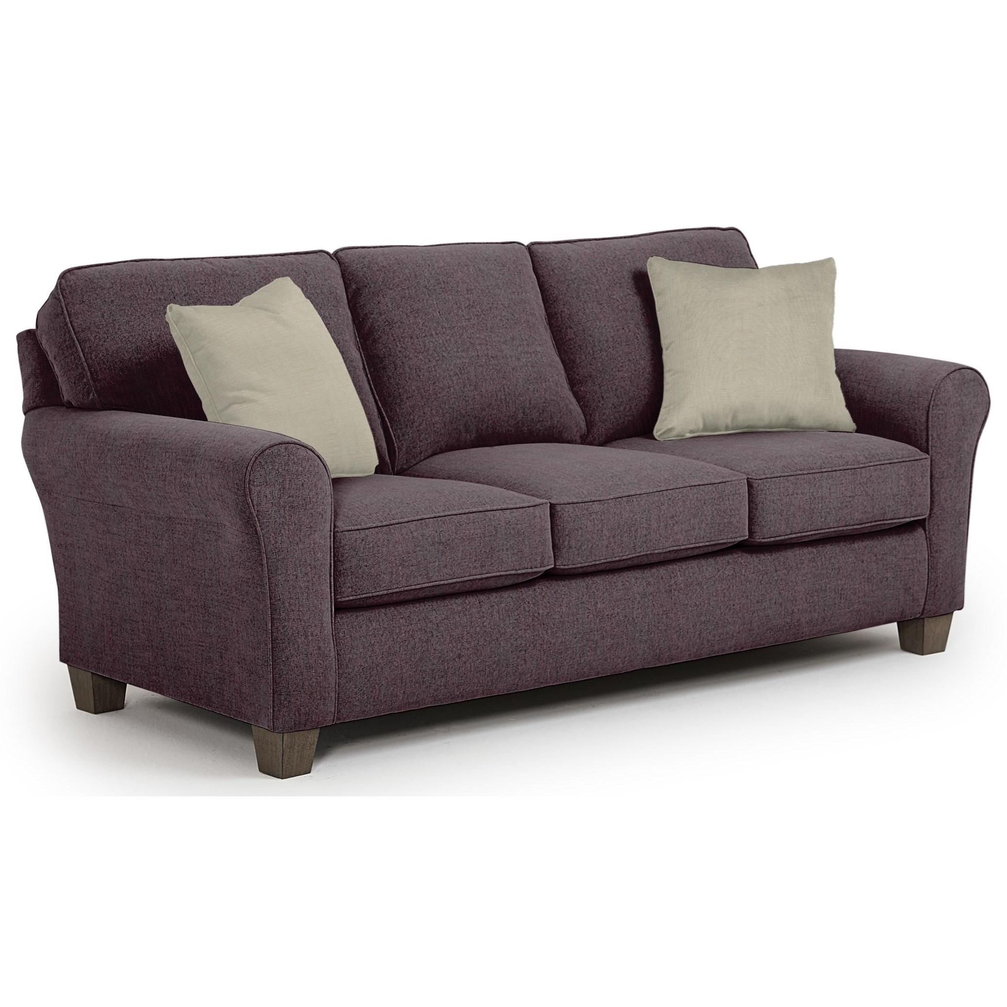 Best Home Furnishings Annabel  <b>Custom</b> 3 Over 3 Sofa - Item Number: 95361869-22868