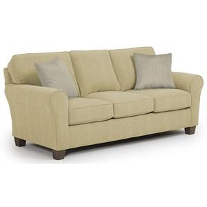 Morris Home Furnishings Annabel  <b>Custom</b> 3 Over 3 Sofa