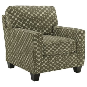 Morris Home Furnishings Annabel  <b>Custom</b> Chair