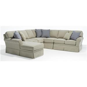 Morris Home Furnishings Annabel  5 Pc Sectional Sofa