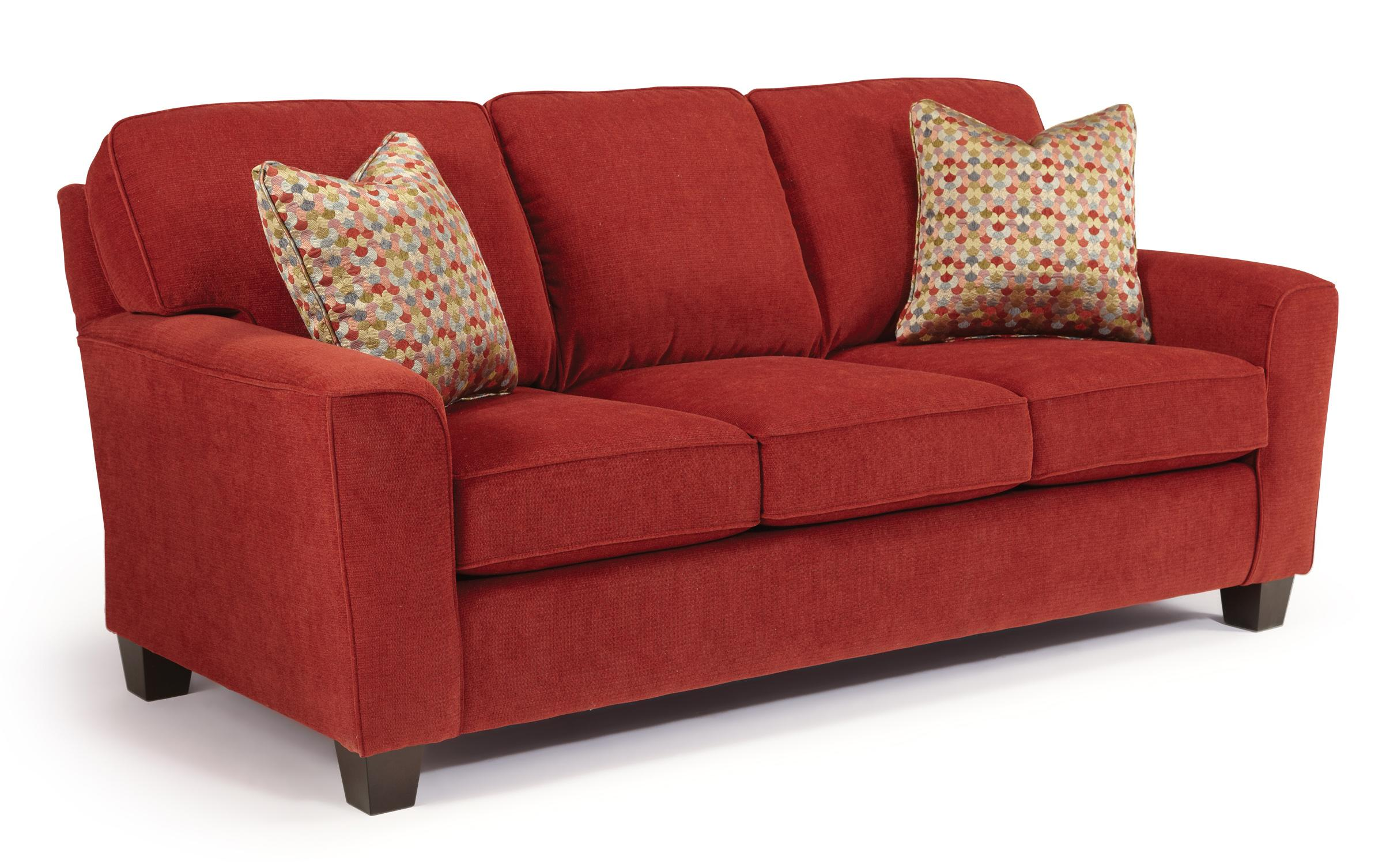 Best Home Furnishings Annabel  <b>Custom</b> 3 Over 3 Sofa - Item Number: S81E