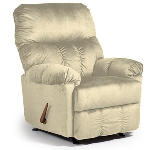 Best Home Furnishings Medium Recliners 7mp24 Seger Power Space Saver