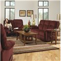 Best Home Furnishings Ares Power Reclining Sofa - Shown in Living Room with Matching Loveseat