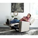 Best Home Furnishings Asher Power Rocker Recliner with Built-In Cupholders Power Head and Lumbar