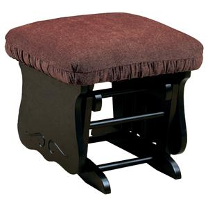 Best Home Furnishings Bedazzle Glide Ottoman