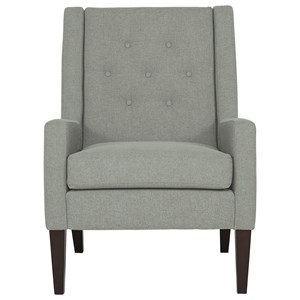 Best Home Furnishings Accent Chairs Keara Exposed Wood