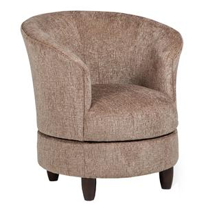 Best Home Furnishings Accent Chairs Swivel Barrel Chair